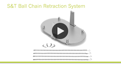 S&T Ball Chain Retraction System link
